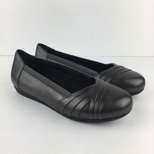 """Abeo Gray Ballet Flats """"Frankly"""" Size 7"""
